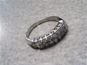 Lady's Platinum-Diamond Wedding Band Apx .80 CTW Size 7.25